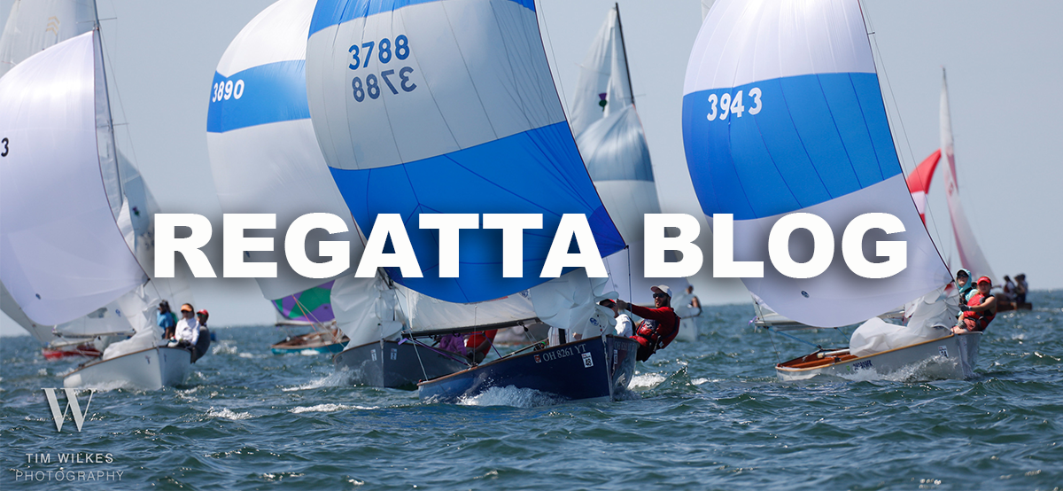 Will and David Weible are writing daily dispatches to keep you apprised of the racing and happenings on the island throughout the regatta. Read the blog.